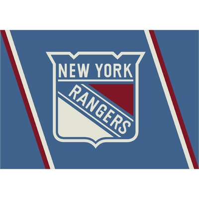 NHL Area Rug NHL Team: New York Rangers