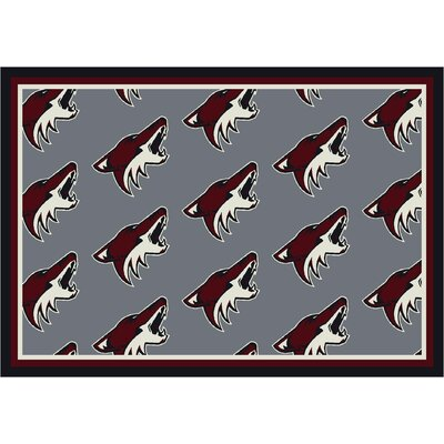 NHL Pheonix Coyotes 533322 2032 2xx Novelty Rug Rug Size: 109 x 132