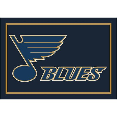 NHL Area Rug NHL Team: St. Louis Blues