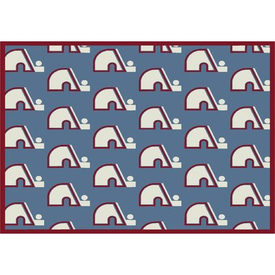 NHL Vintage Quebec 533322 2212 2xx Novelty Rug Rug Size: Rectangle 78 x 109, NHL Team: Quebec