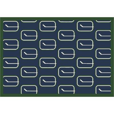 NHL Vintage Vancouver 533322 2312 2xx Novelty Rug Rug Size: 78 x 109