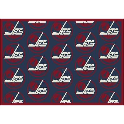NHL Vintage Winnipeg 533322 2412 2xx Novelty Rug Rug Size: 78 x 109