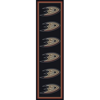 NHL Repeat Anaheim Ducks Novelty Rug Rug Size: Runner 21 x 78