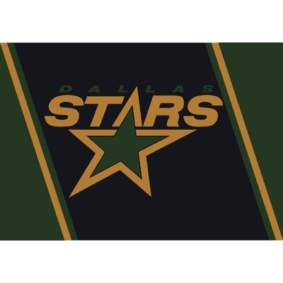 NHL Repeat Dallas Stars Novelty Rug Rug Size: 310 x 54