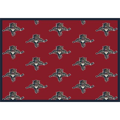 NHL Team Repeat Florida Panthers Novelty Rug Rug Size: 310 x 54