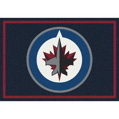 NHL Team Spirit Winnipeg Jets Novelty Rug Rug Size: 78 x 109