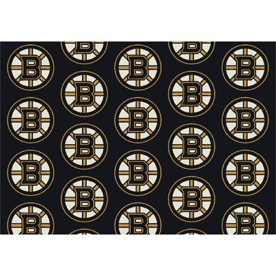 NHL Team Repeat Boston Bruins Novelty Rug Rug Size: 310 x 54