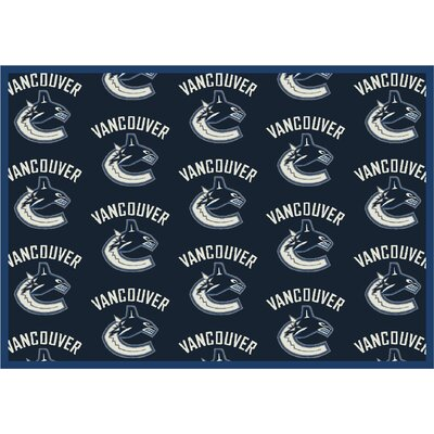 NHL Team Repeat Vancouver Canucks Novelty Rug Rug Size: Runner 21 x 78