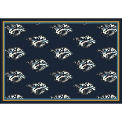 NHL Team Repeat Nashville Predators Novelty Rug