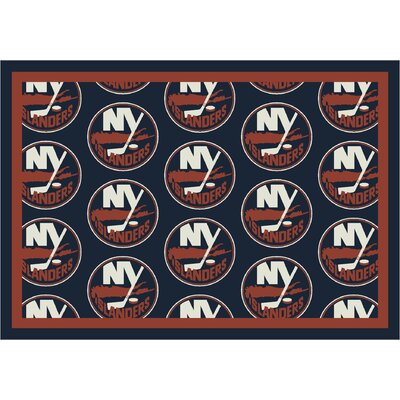 NHL Team Repeat New York Islanders Novelty Rug