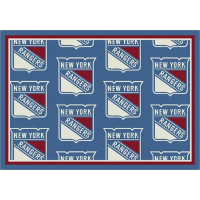 NHL Team Repeat New York Rangers Novelty Rug