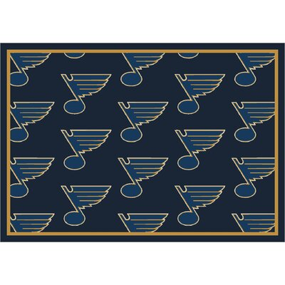 NHL Team Repeat St. Louis Blues Novelty Rug