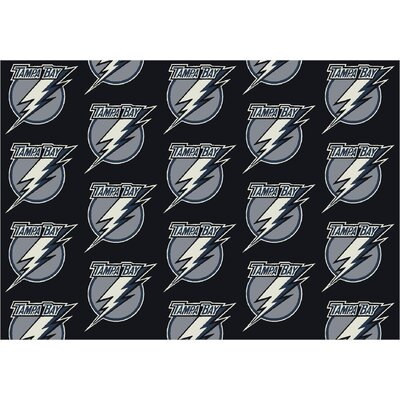 NHL Team Repeat Tampa Bay Lightning Novelty Rug