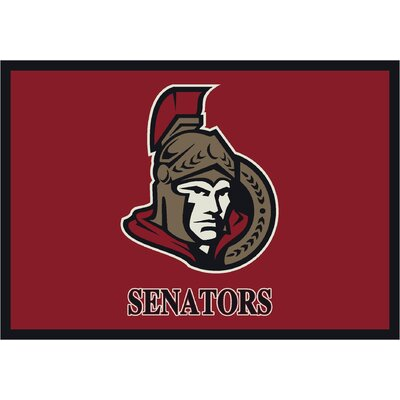 NHL Team Spirit Ottawa Senators Novelty Rug
