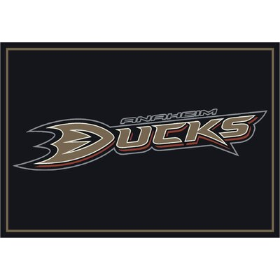 NHL Area Rug NHL Team: Anaheim Ducks