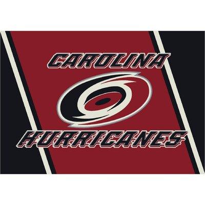 NHL Team Spirit Carolina Hurricanes Novelty Rug