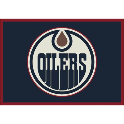 NHL Team Spirit Edmonton Oilers Novelty Rug