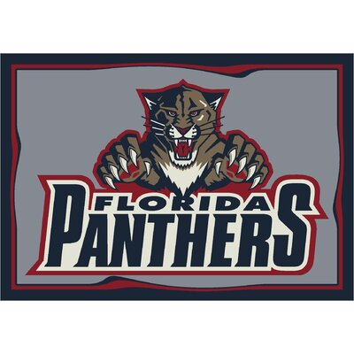 NHL Team Spirit Florida Panthers Novelty Rug