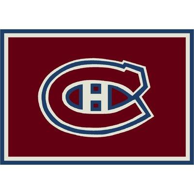 NHL Team Spirit Montreal Canadians Novelty Rug