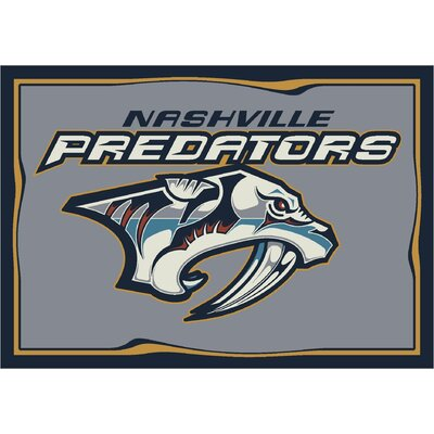 NHL Team Spirit Nashville Predators Novelty Rug