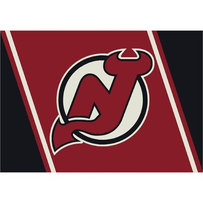 NHL Team Spirit New Jersey Devils Novelty Rug