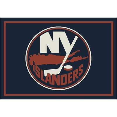NHL Team Spirit New York Islanders Novelty Rug