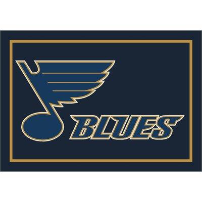 NHL Team Spirit St. Louis Blues Novelty Rug