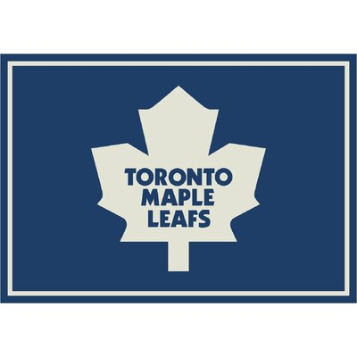 NHL Team Spirit Toronto Maple Leafs Novelty Rug