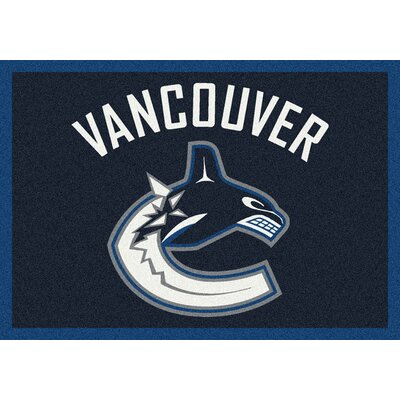 NHL Team Spirit Vancouver Canucks Novelty Rug