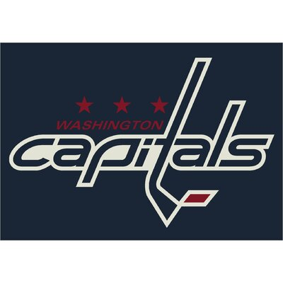 NHL Team Spirit Washington Capitals Novelty Rug