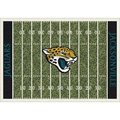NFL Team Home Field Jacksonville Jaguars Novelty Rug Rug Size: 310 x 54