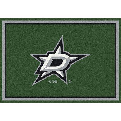 NHL Dallas Stars 533322 1091 2xx Novelty Rug Rug Size: 54 x 78