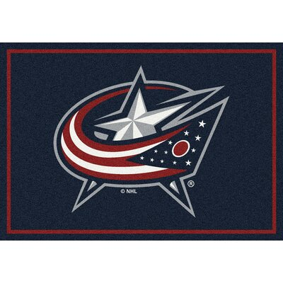 NHL Columbus Bluejackets 533322 1081 2xx Novelty Rug Rug Size: 54 x 78