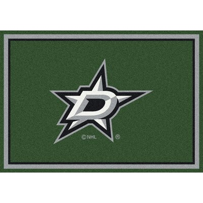 NHL Dallas Stars 533322 1091 2xx Novelty Rug Rug Size: 310 x 54