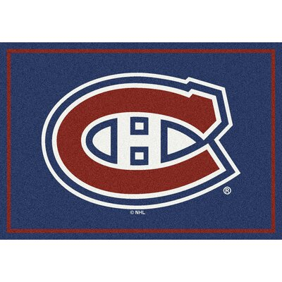NHL Montreal Canadians 533322 1611 2xx Novelty Rug Rug Size: 54 x 78