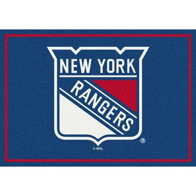 NHL New York Rangers 533322 2001 2xx Novelty Rug Rug Size: 310 x 54
