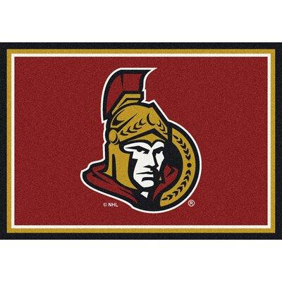 NHL Ottawa Senators 533322 2011 2xx Novelty Rug Rug Size: 28 x 310