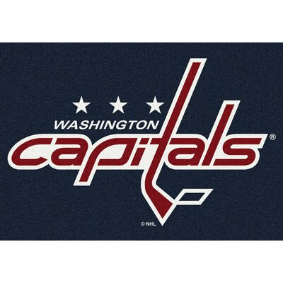 NHL Washington Capitals 533322 2101 2xx Novelty Rug Rug Size: 28 x 310