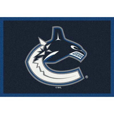 NHL Vancouver Canucks 533322 2091 2xx Novelty Rug Rug Size: 54 x 78