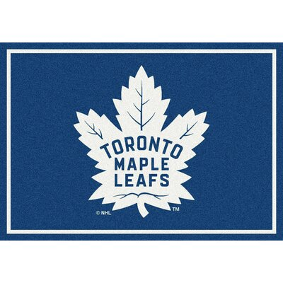 NHL Toronto Maple Leafs 533322 2081 2xx Novelty Rug Rug Size: 54 x 78
