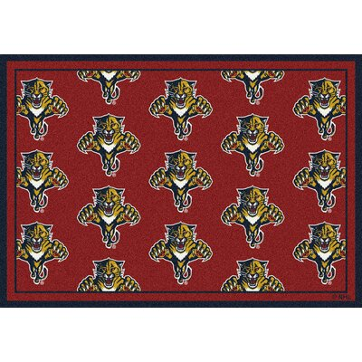 NHL Florida Panthers 533322 1312 2xx Novelty Rug Size: 78 x 109