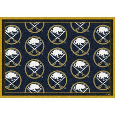 NHL Buffalo Sabres 533322 1032 2xx Novelty Rug Size: 54 x 78