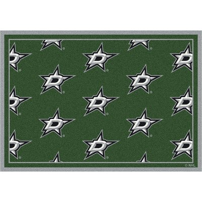 NHL Dallas Stars 533322 1092 2xx Novelty Rug Size: 109 x 132