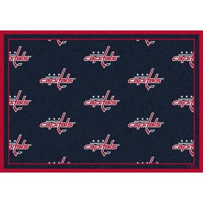NHL Washington Capitals 533322 2102 2xx Novelty Rug Rug Size: 78 x 109