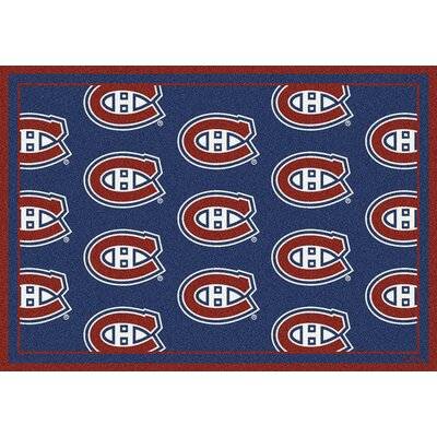 NHL Montreal Canadians 533322 1612 2xx Novelty Rug Rug Size: Runner 21 x 78