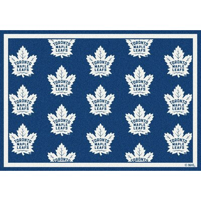 NHL Toronto Maple Leafs 533322 2082 2xx Novelty Rug Rug Size: 78 x 109