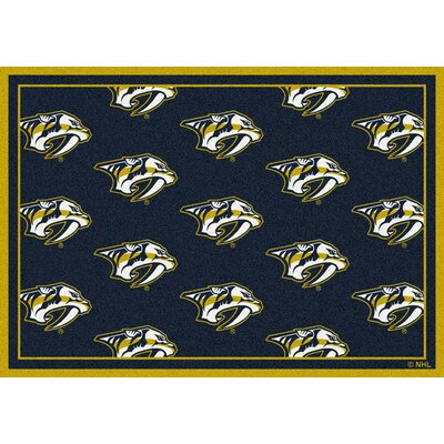 NHL Nashville Predators 533322 1712 2xx Novelty Rug Rug Size: Runner 21 x 78