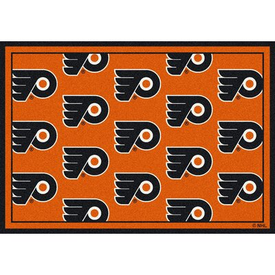 NHL Philadelphia Flyers 533322 2022 2xx Novelty Rug Rug Size: 109 x 132