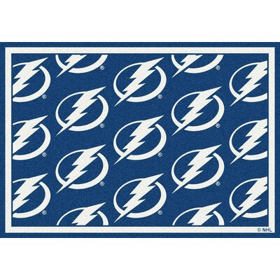 NHL Tampa Bay Lightning 533322 2072 2xx Novelty Rug Rug Size: 109 x 132