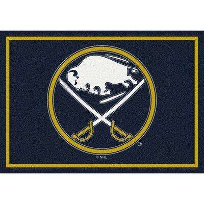 NHL Buffalo Sabres 533322 1031 2xx Novelty Rug Rug Size: 54 x 78